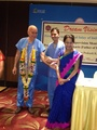 Honouring ceremony for Professor Pallikaris on behalf of Pune and Maharashtra state Ophthalmic Society